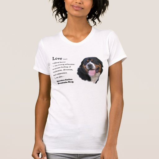 Mayores regalos suizos del perro de la montaña tee shirt