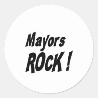 Mayors Rock! Sticker