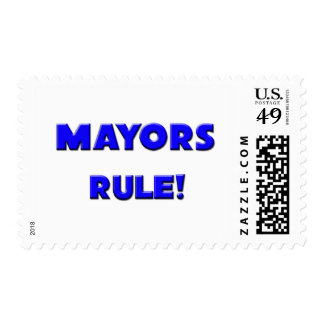 Mayors Rule! Postage Stamps