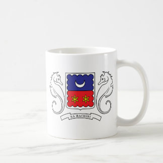 Mayotte Coat of Arms detail Mugs