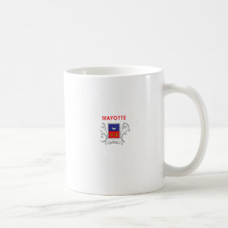 Mayotte Flag Map full size Coffee Mugs