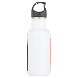 Mayotte Flag Stainless Steel Water Bottle