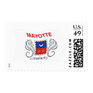 Mayotte Flag Stamps