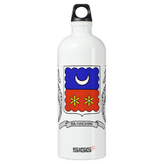 Mayotte (France) Coat of Arms Aluminum Water Bottle