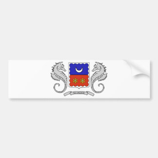 Mayotte (France) Coat of Arms Bumper Stickers