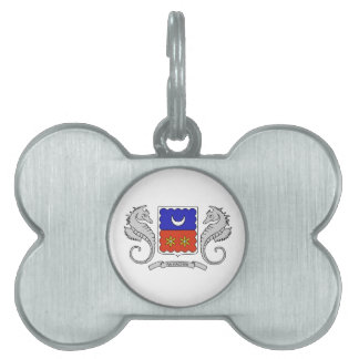 Mayotte (France) Coat of Arms Pet Tags