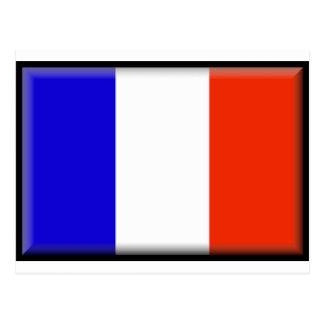 Mayotte (France) Flag Postcard
