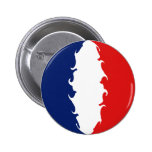 Mayotte Gnarly Flag Pinback Button