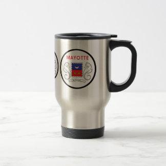 Mayotte quality Flag Circle Coffee Mug