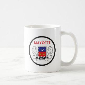 Mayotte Roundel quality Flag Coffee Mugs