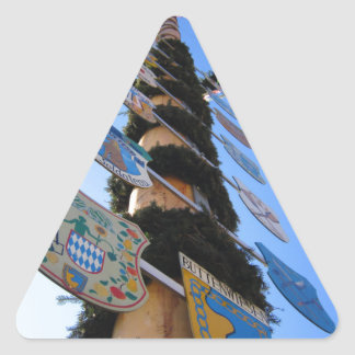 Maypole #4 triangle sticker