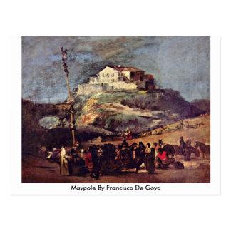 Maypole By Francisco De Goya Postcard
