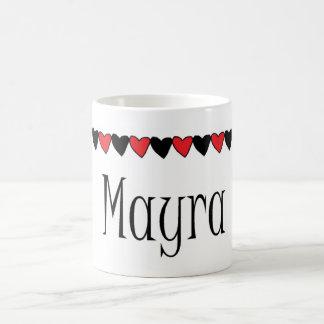 Mayra Hearts name Mugs