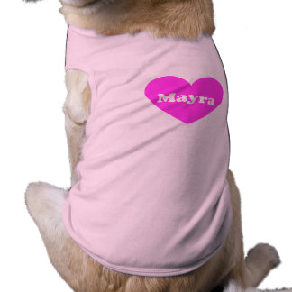 Mayra Playera Sin Mangas Para Perro