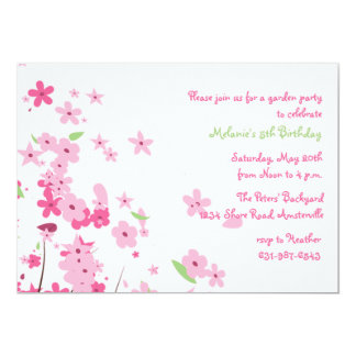 May's Colors Garden Party Invitation
