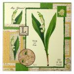 May's Flower Tile