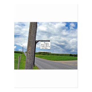 Maytag Wringer Washer Sales & Service Postcard