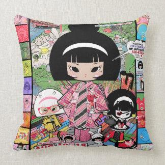 Mayumi Gumi - Mayumi Week Throw Pillow
