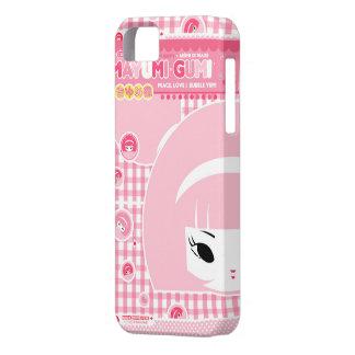 Mayumi Gumi - paz, amor y burbuja Yum iPhone 5 Carcasas