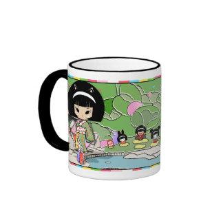 Mayumi Gumi - Super BFF Cosplay Garden Ringer Coffee Mug