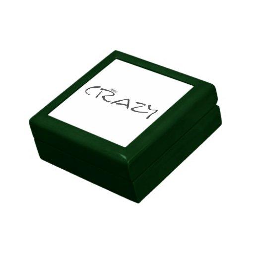 Mayúsculas certificadas del sello oficial loco joyero cuadrado pequeño