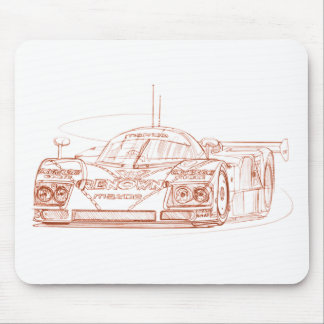 Maz 787B LeMans Mouse Pad