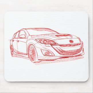 Maz Speed 3 2010 Mouse Pad