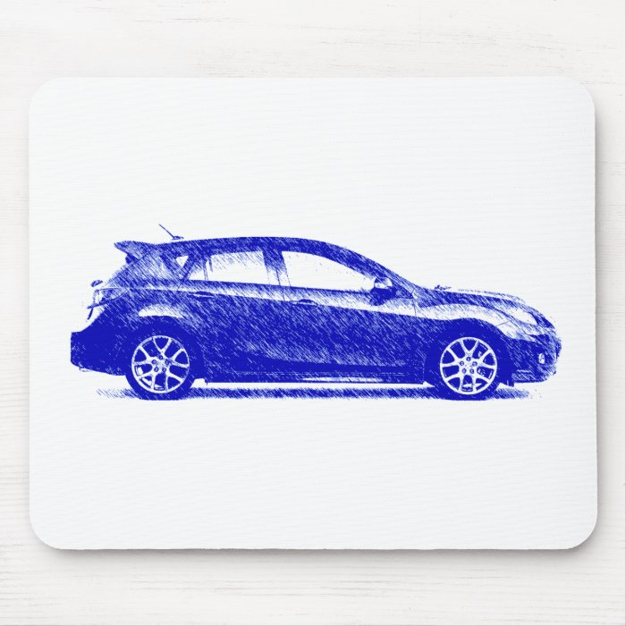 Maz Speed 3 2010 streaked Mouse Pad