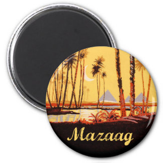 Mazaag Vintage Day Fridge Magnets