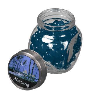 Mazaag Vintage Night Glass Jars
