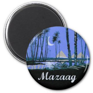 Mazaag Vintage Night Refrigerator Magnet