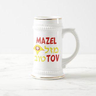 Mazal Tov Beer Stein