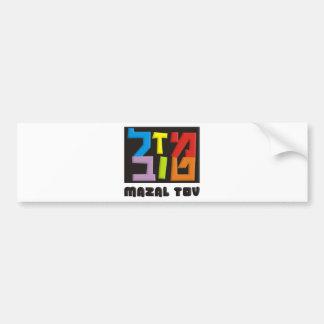 Mazal Tov Bumper Stickers