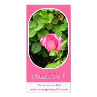 Mazal Tov card Custom Photo Card