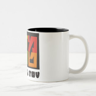 Mazal Tov Two-Tone Coffee Mug