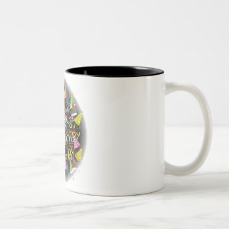 mazal tovs Two-Tone coffee mug