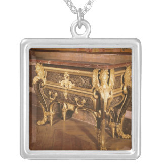 Mazarine commode silver plated necklace