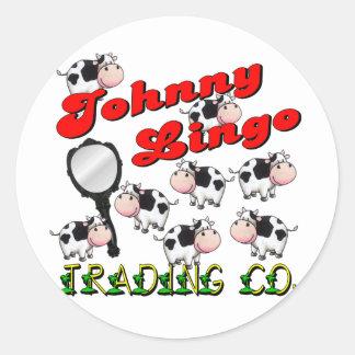 Mazarota de Johnny que negocia el Co Etiqueta Redonda
