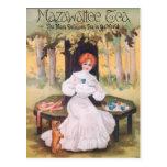 Mazawattee Tea Pug Postcard