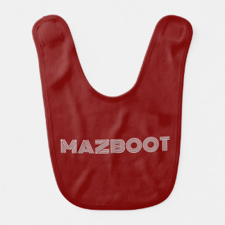 Mazboot Babero De Bebé