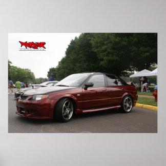 Mazda Protege Poster
