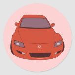 Mazda Round Stickers