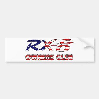 Mazda RX8 USA owners club Bumper Sticker