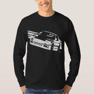 Mazda RX-7 FC3S Sideways Long Sleeve T-Shirt