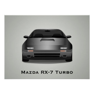 Mazda RX-7 Turbo Poster