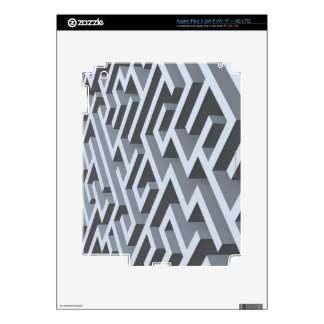 Maze 3 decal for iPad 3