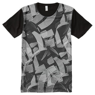 Maze Abstract All-Over-Print T-Shirt
