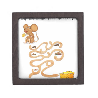 Maze game premium jewelry boxes