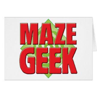 Maze Geek v2 Card
