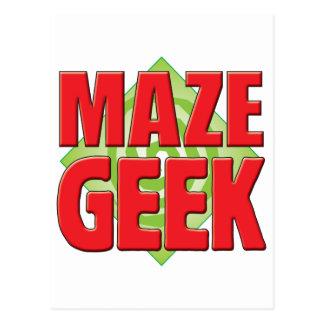 Maze Geek v2 Post Card